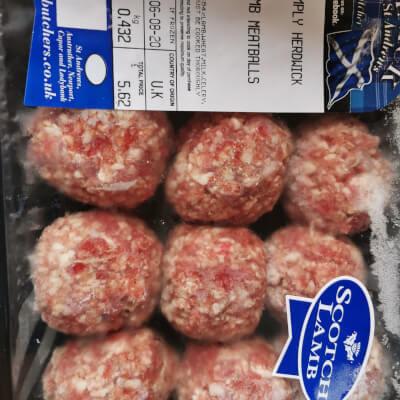 Hogget Meatballs