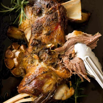 Lamb Shoulder With Bone In