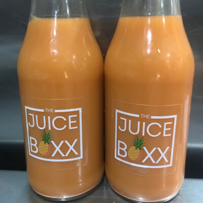 Juice Box 100% Coldpressed The Hammer Carrot Juice