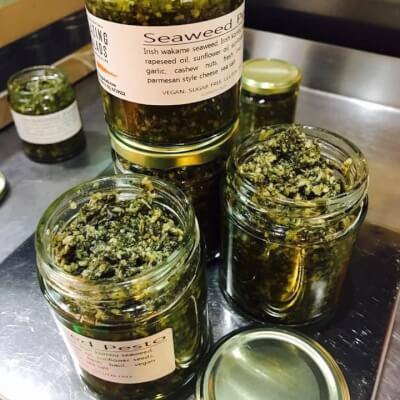 Vegan Seaweed Pesto