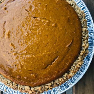 Organic Pumpkin Pie Full Cake