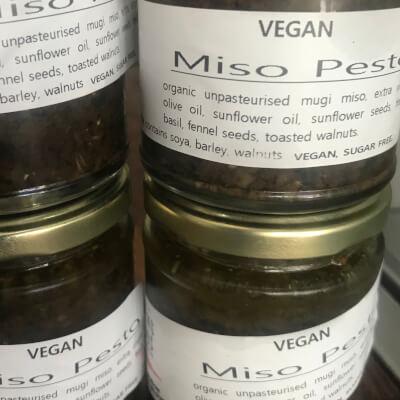 Vegan Miso Pesto