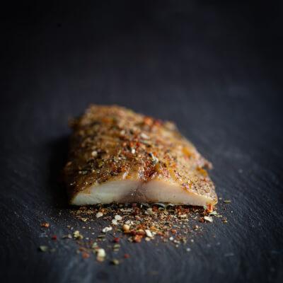 Line Caught Smoked Mackerel Spiced