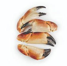 2 Lb Cooked Full Crab Claws With Shell