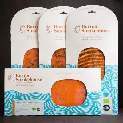 Smoked Organic Irish Salmon
