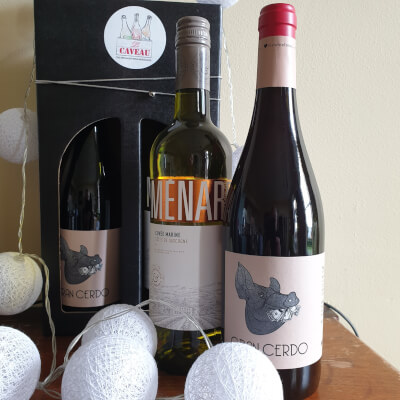 Wine Gift - Party Duo - Ménard 'Cuvée Marine + Gran Cerdo Tempranillo
