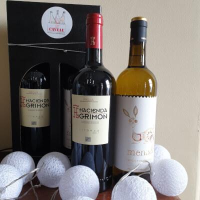 Wine Gift - Spanish Duo - Rioja Crianza Grimon + Menade Verdejo