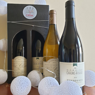 Wine Gift - French Classique - Viré-Clessé 'Pierres Blanches' + Vinsobres Chaume-Arnaud