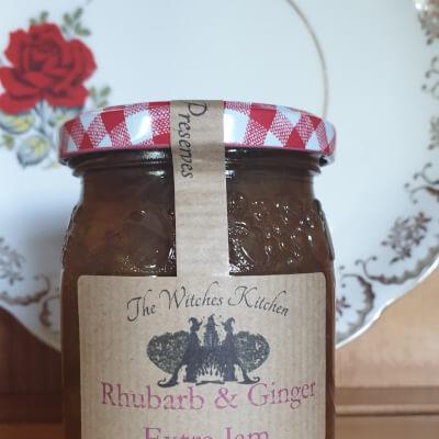 Rhubarb & Ginger Extra Jam