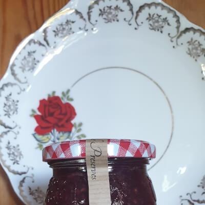 Rhubarb & Raspberry Extra Jam