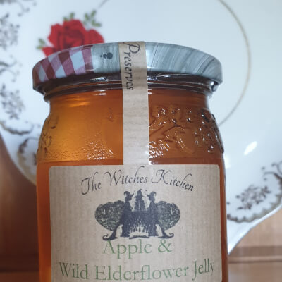 Apple And Wild Elderflower Jelly