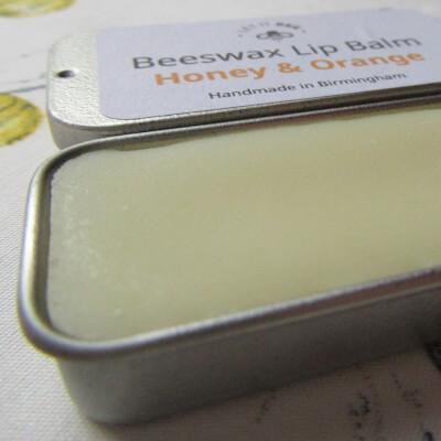 Beeswax Lip Balm - Honey & Orange