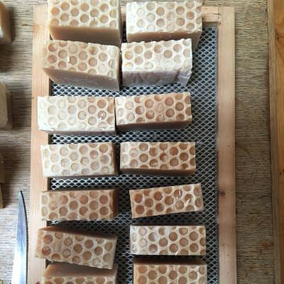 Large Honey & Lemongrass Soap