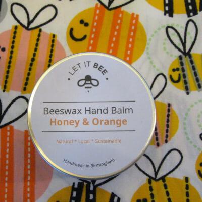 Beeswax Hand Balm - Honey & Orange