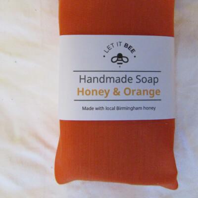 Medium Honey & Orange Soap