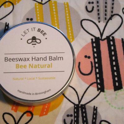 Beeswax Hand Balm - Bee Natural