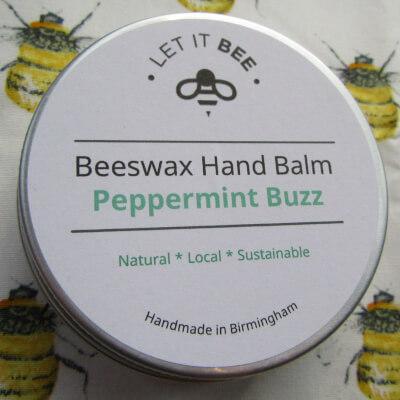 Beeswax Hand Balm - Peppermint Buzz