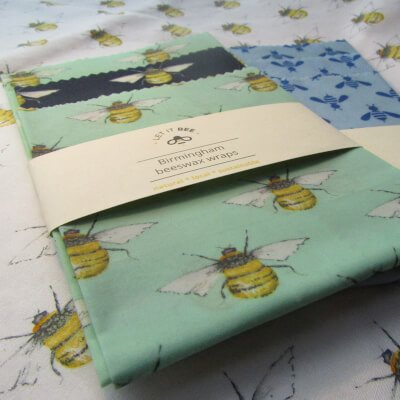 Beeswax Food Wraps Pack Of 3 (S, M, L)