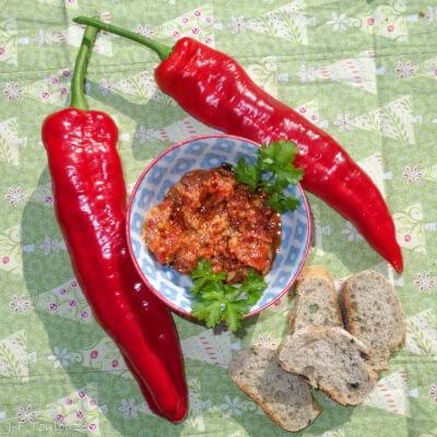 Sweet Red Pepper Tapenade