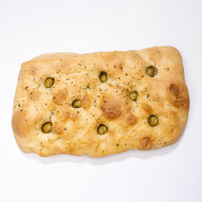 Focaccia - Topped With Olives