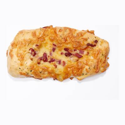 -- 2X Mini Focaccia - With Ham & Cheese