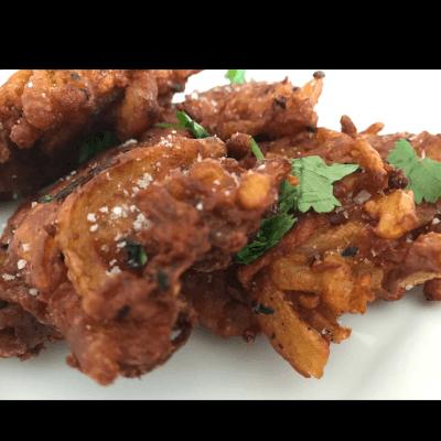 Onion & Butternut Squash Bhajis