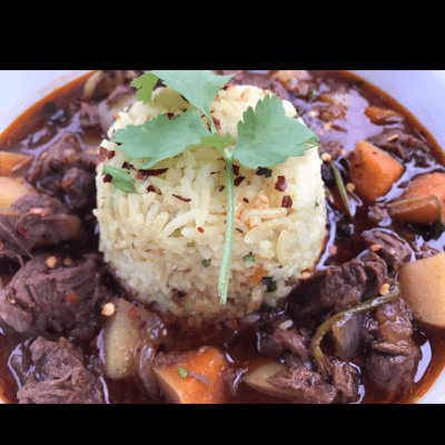 Beef Massaman Curry With Ayurveda Spiced Rice