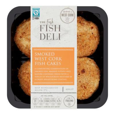 The Fresh Fish Deli Smoked West Cork Fish Cake