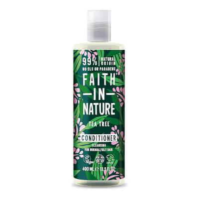Faith In Nature Tea Tree Conditioner Refill & Bottle