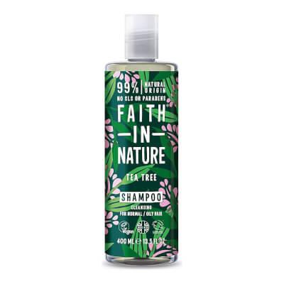 Faith In Nature Tea Tree Shampoo Refill & Bottle
