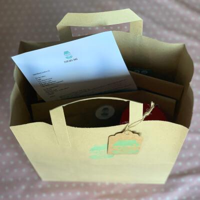 Cupcake Cake Bag