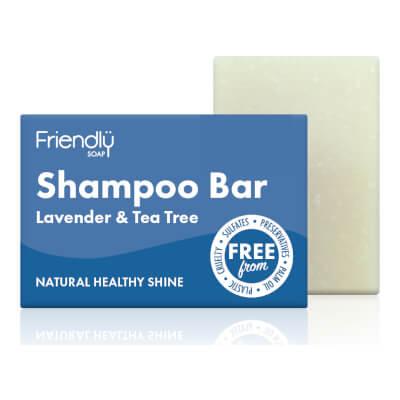 Friendly Lavender & Tea Tree Shampoo Soap Bar