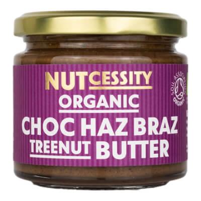 Organic Choc Haz Braz Butter