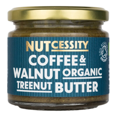 Organic Coffee & Walnut Butter 180G