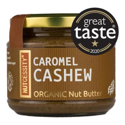 Organic Caromel Cashew Butter 180G