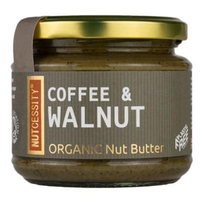 Organic Coffee & Walnut Butter 180G