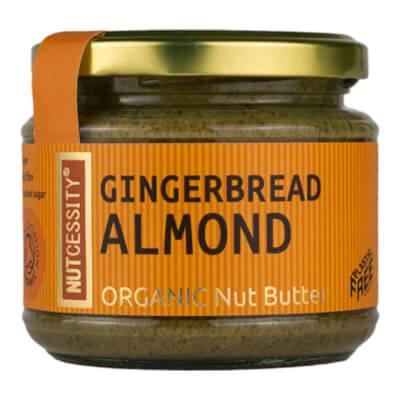 Organic Gingerbread Almond Butter 180G