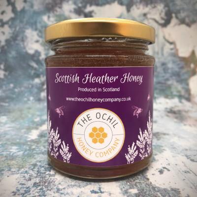 8 Oz Scottish Heather Honey