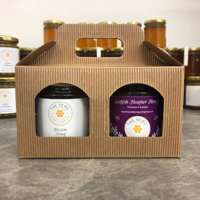 Gift Pack With Blended Heather And Runny Honey