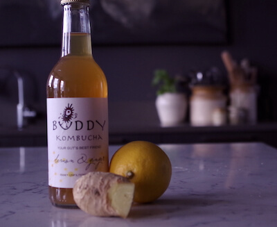 Buddy Kombucha - Lemon & Double Ginger