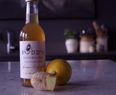 Buddy Kombucha - Lemon & Ginger