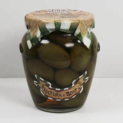"""Bella De Cerignola"" Olives Medium Size"