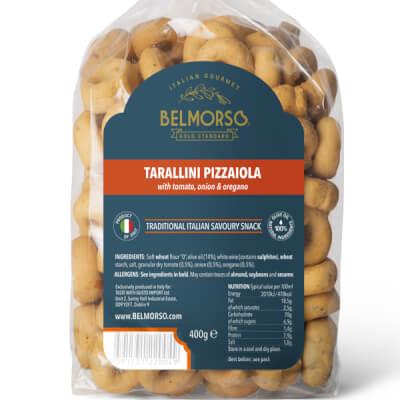 Belmorso Tarallini Pizzaiola With Tomato, Onion & Oregano