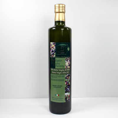 "Organic Extra Virgin Olive Oil ""Il Vero"" 750Ml"