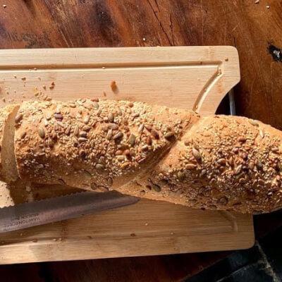 Wurzel (=Roots) Bread