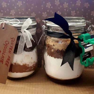 Brownie Cake Jar - Make Your Own