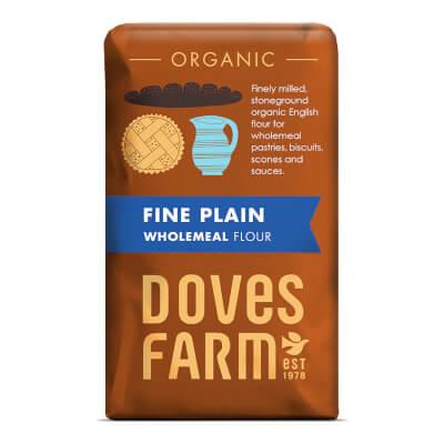 Fine Wholewheat Flour - Organic 1Kg