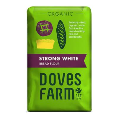 Strong White Flour - Organic 1 Kg