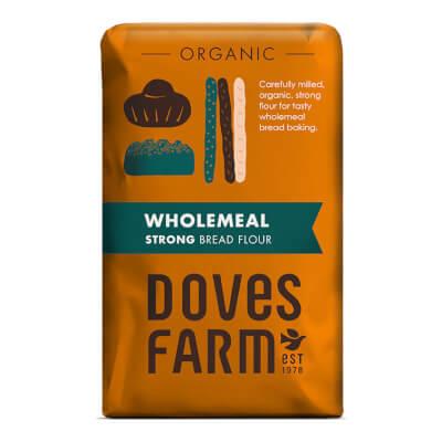 Strong Wholewheat Flour - Organic 1 Kg