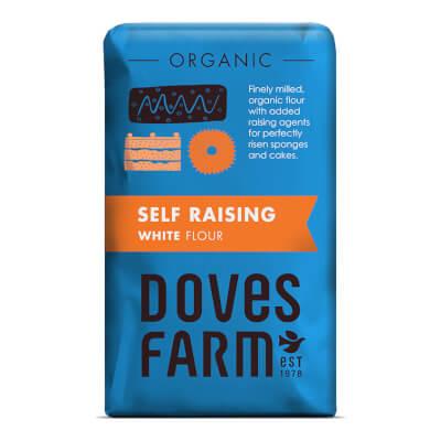 White Self Raising Flour - Organic 1Kg